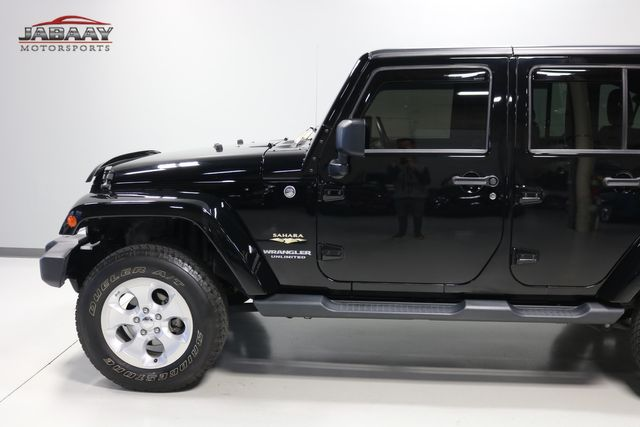 2014 Jeep Wrangler Unlimited Sahara Merrillville, Indiana 31