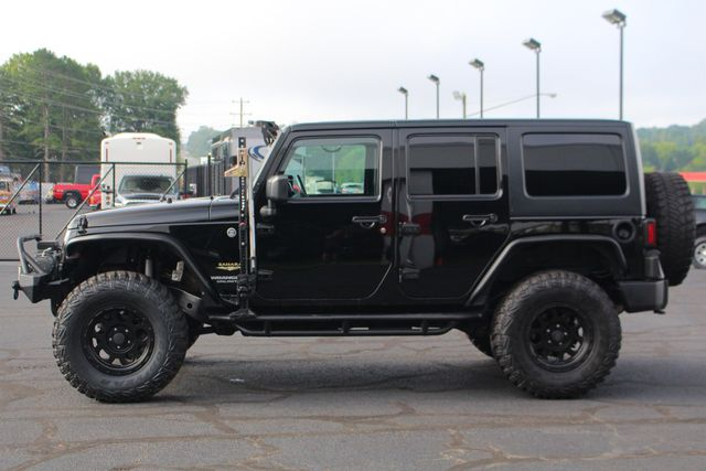 2014 Jeep Wrangler Unlimited Sahara 4X4- LIFTED- TON$ OF EXTRA$- HEATED LEATHER Mooresville , NC 14