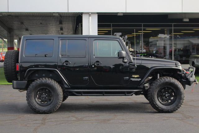 2014 Jeep Wrangler Unlimited Sahara 4X4- LIFTED- TON$ OF EXTRA$- HEATED LEATHER Mooresville , NC 13