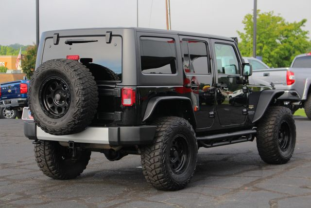 2014 Jeep Wrangler Unlimited Sahara 4X4- LIFTED- TON$ OF EXTRA$- HEATED LEATHER Mooresville , NC 23