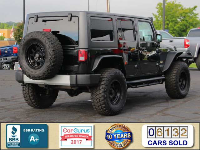 2014 Jeep Wrangler Unlimited Sahara 4X4- LIFTED- TON$ OF EXTRA$- HEATED LEATHER Mooresville , NC 2