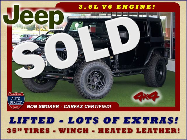 2014 Jeep Wrangler Unlimited Sahara 4X4- LIFTED- TON$ OF EXTRA$- HEATED LEATHER Mooresville , NC