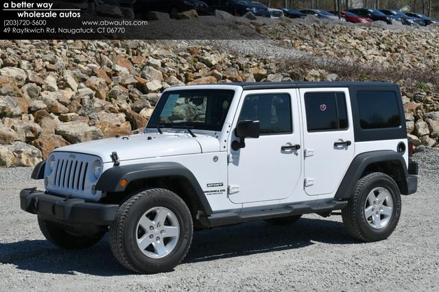 2014 Jeep Wrangler Unlimited Sport S 4X4 Naugatuck, Connecticut