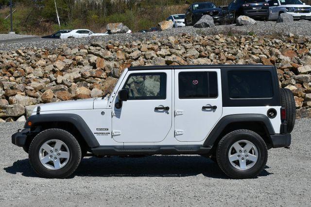 2014 Jeep Wrangler Unlimited Sport S 4X4 Naugatuck, Connecticut 3