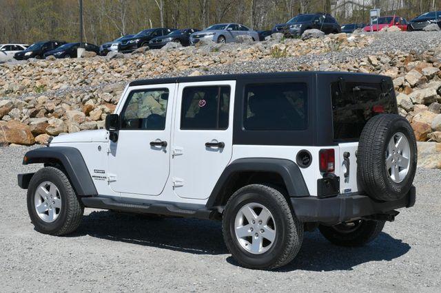 2014 Jeep Wrangler Unlimited Sport S 4X4 Naugatuck, Connecticut 4