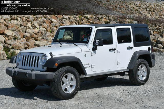 2014 Jeep Wrangler Unlimited Sport 4WD Naugatuck, Connecticut
