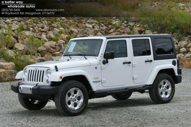 2014 Jeep Wrangler Unlimited  Sahara 4WD Naugatuck, Connecticut