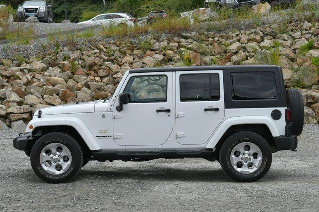 2014 Jeep Wrangler Unlimited  Sahara 4WD Naugatuck, Connecticut 3