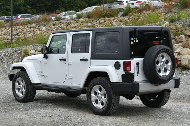 2014 Jeep Wrangler Unlimited  Sahara 4WD Naugatuck, Connecticut 4