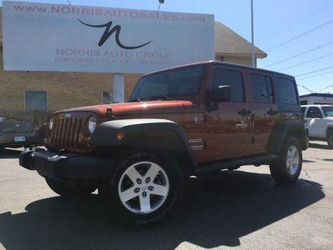 2014 Jeep Wrangler Unlimited Sport Located at 700 S MacArthur Blvd 405-917-7433 | Oklahoma City, OK | Norris Auto Sales (NW 39th) in Oklahoma City, OK