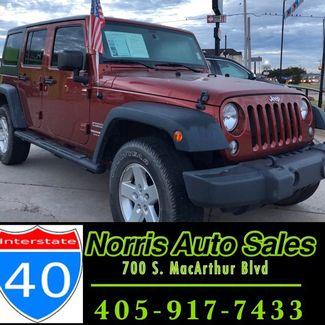 2014 Jeep Wrangler Unlimited Sport   Oklahoma City, OK   Norris Auto Sales (I-40) in Oklahoma City OK
