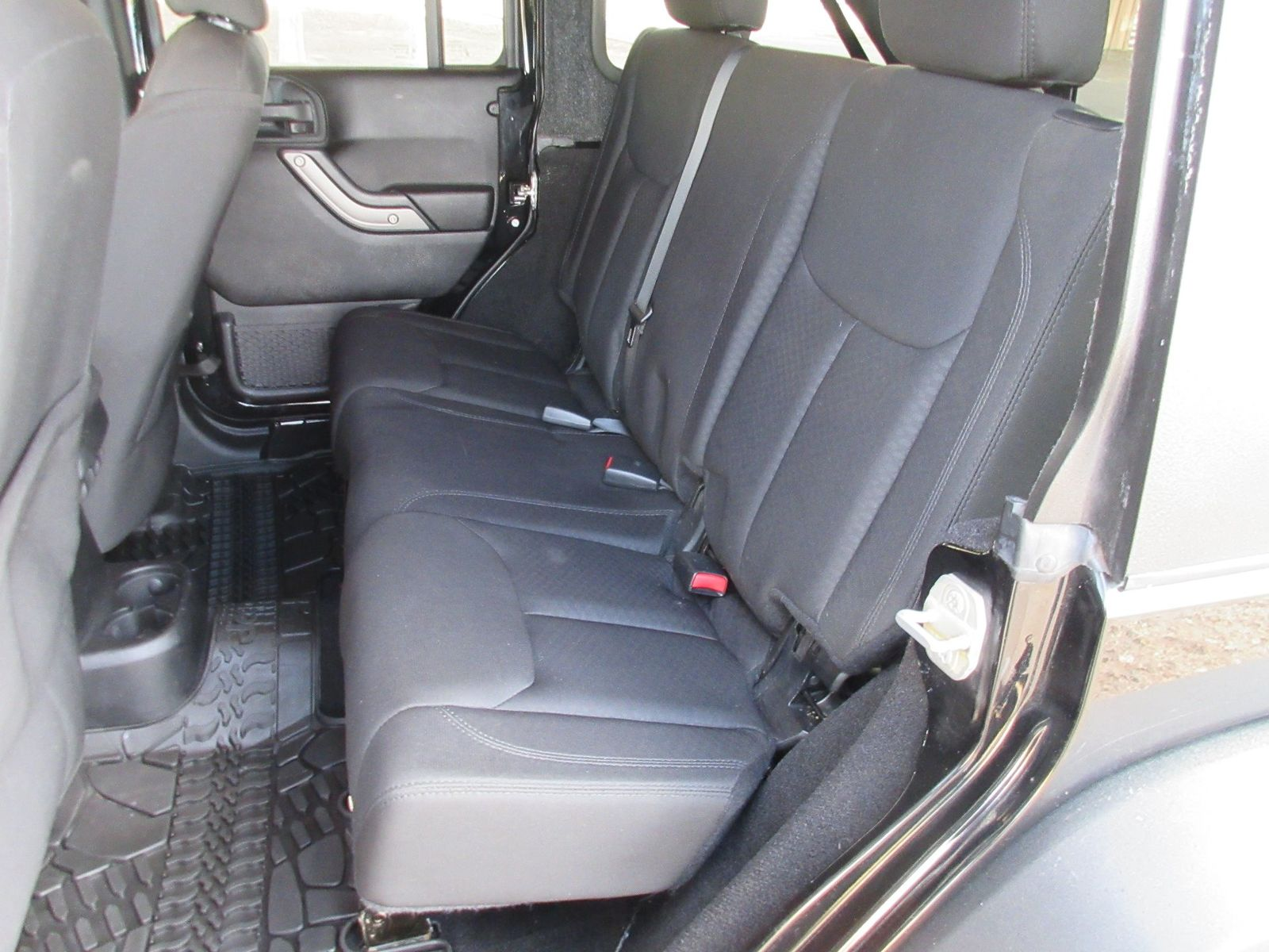 2014 Jeep Wrangler Unlimited Willys Wheeler Fultons Used Cars Inc Rear Seat In Colorado