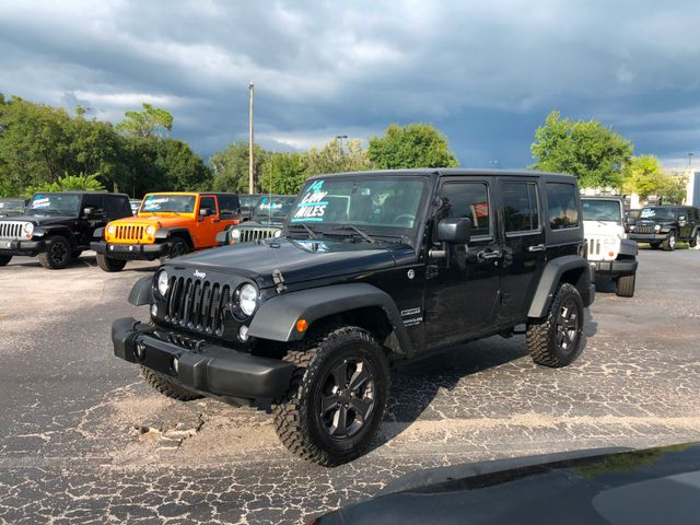 2014 Jeep Wrangler Unlimited Sport Riverview, Florida 1