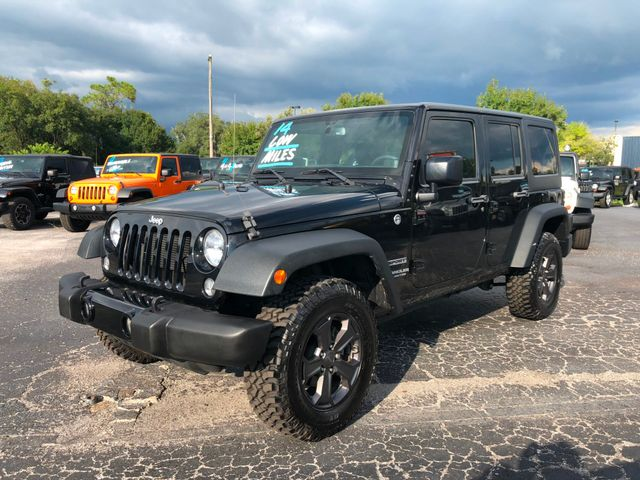 2014 Jeep Wrangler Unlimited Sport Riverview, Florida
