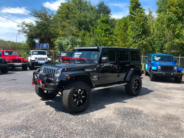 2014 Jeep Wrangler Unlimited Freedom Edition in Riverview, FL 33578