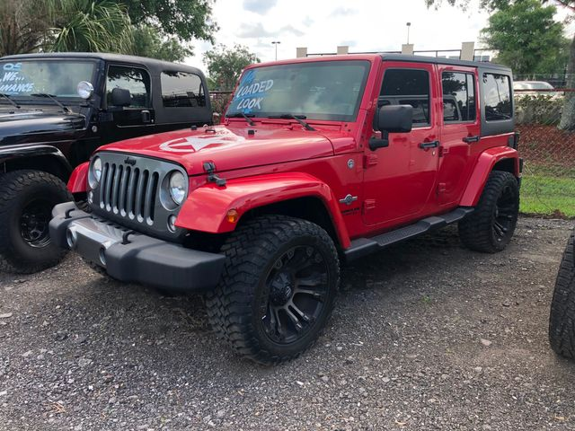 2014 Jeep Wrangler Unlimited Freedom Edition Oscar Mike in Riverview, FL 33578