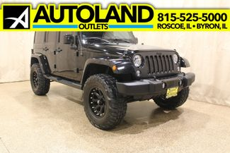 2014 Jeep Wrangler Unlimited 4x4 Altitude in Roscoe IL, 61073