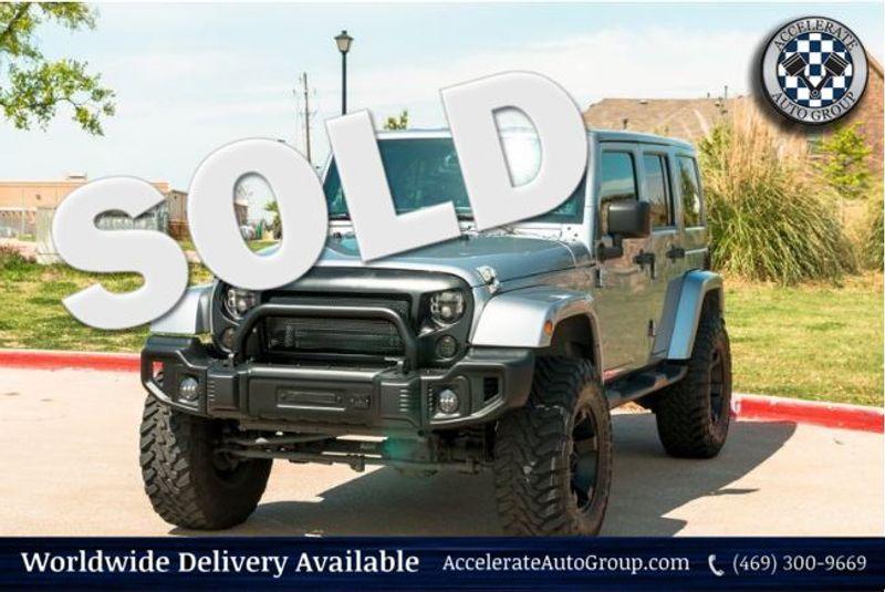 2014 Jeep Wrangler Unlimited Sahara in Rowlett Texas