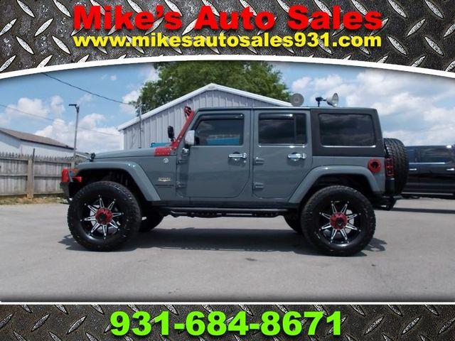 2014 Jeep Wrangler Unlimited Sahara Shelbyville, TN
