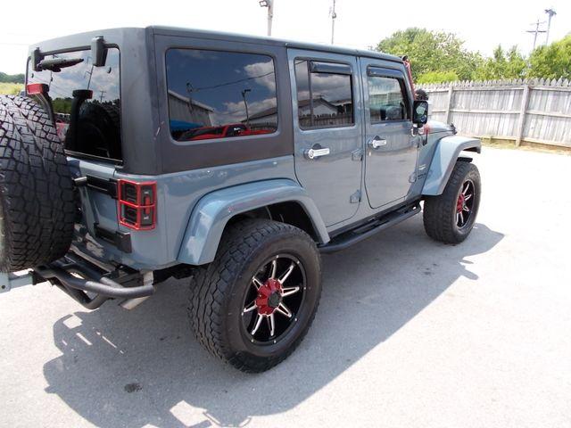 2014 Jeep Wrangler Unlimited Sahara Shelbyville, TN 12