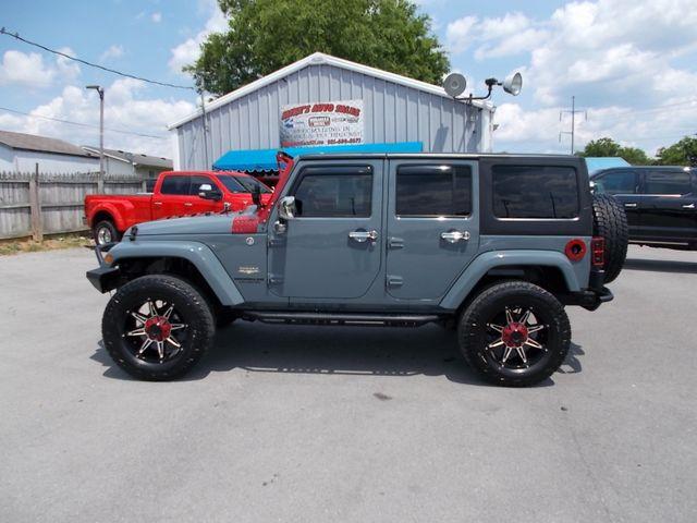 2014 Jeep Wrangler Unlimited Sahara Shelbyville, TN 2