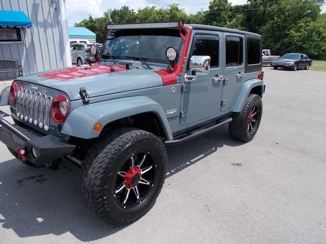2014 Jeep Wrangler Unlimited Sahara Shelbyville, TN 6