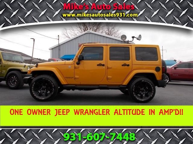 2014 Jeep Wrangler Unlimited Altitude Shelbyville, TN