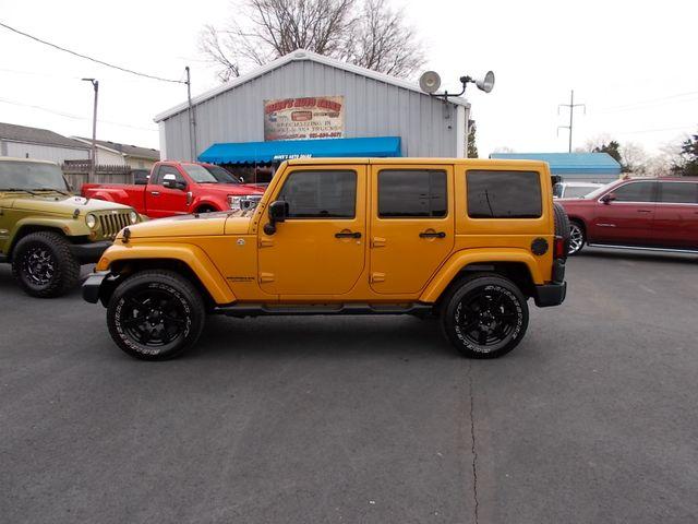 2014 Jeep Wrangler Unlimited Altitude Shelbyville, TN 2