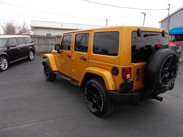 2014 Jeep Wrangler Unlimited Altitude Shelbyville, TN 4