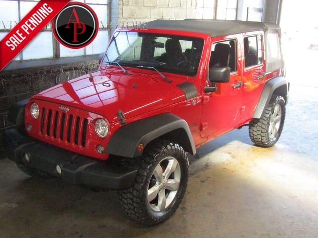 2014 Jeep Wrangler Unlimited Sport