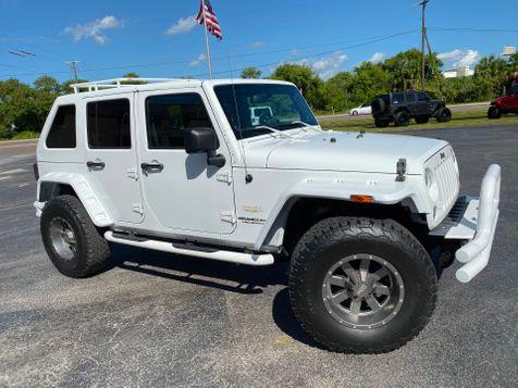 2014 Jeep Wrangler Unlimited CUSTOM SAHARA LEATHER SLANTBACK CUSTOM  in , Florida