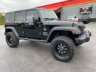 2014 Jeep Wrangler Unlimited CUSTOM SPORT S HARDTOP LIFTED MONSTER WHEELS    Florida  Bayshore Automotive   in , Florida