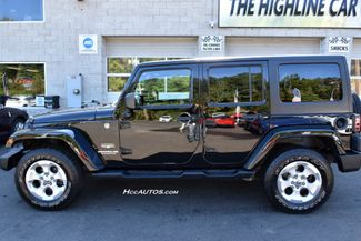 2014 Jeep Wrangler Unlimited Sahara Waterbury, Connecticut 3
