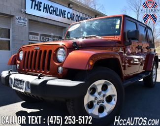 2014 Jeep Wrangler Unlimited Sahara Waterbury, Connecticut