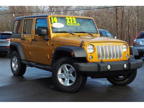 2014 Jeep Wrangler Unlimited Sport | Whitman, Massachusetts | Martin's Pre-Owned in Whitman, Massachusetts