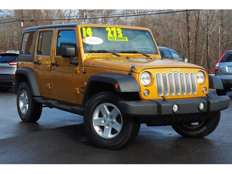 2014 Jeep Wrangler Unlimited Sport | Whitman, MA | Martin's Pre-Owned Auto Center