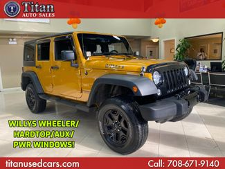 2014 Jeep Wrangler Unlimited Willys Wheeler in Worth, IL 60482