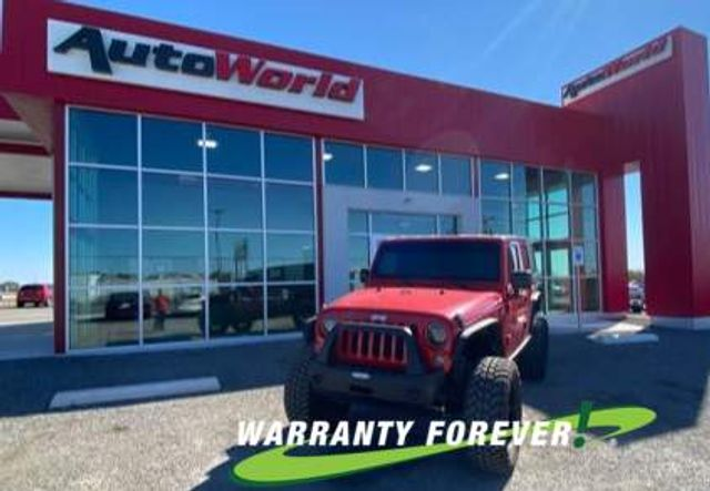 2014 Jeep Wrangler Unlimited Sport Lifted 4X4