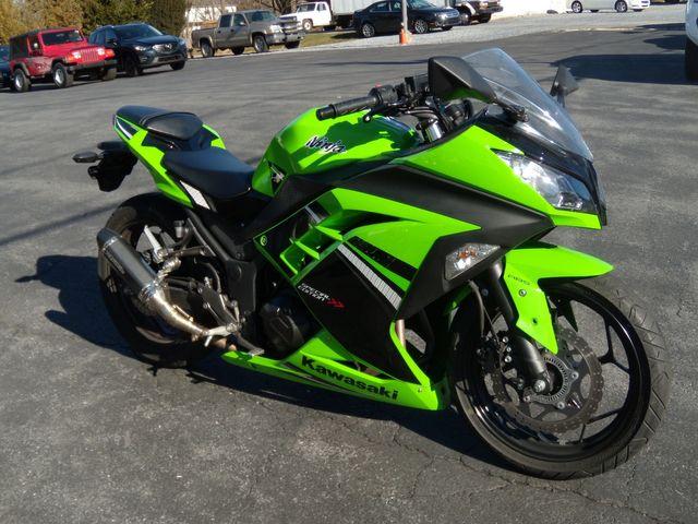 2014 Kawasaki Ninja 300 ABS EX300BEFA
