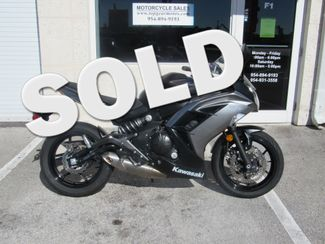 2014 Kawasaki Ninja 650 ABS in Dania Beach Florida, 33004