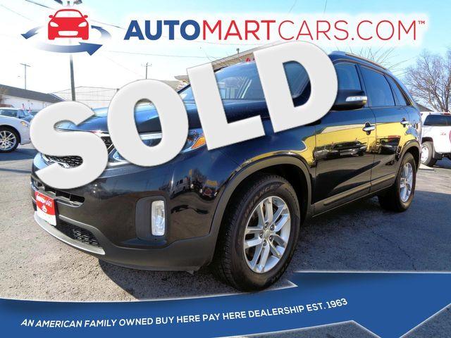 2014 Kia Sorento LX   Nashville, Tennessee   Auto Mart Used Cars Inc. in Nashville Tennessee