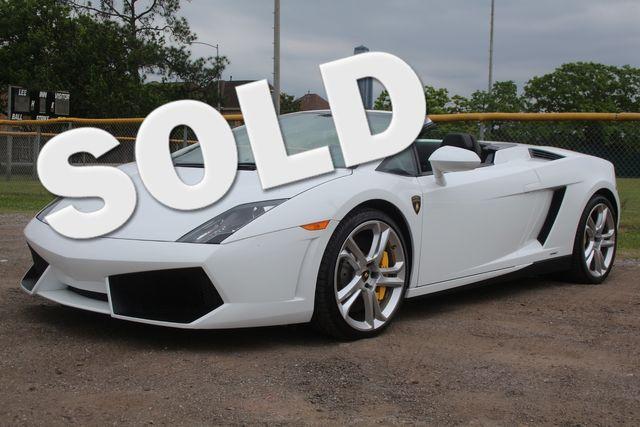 2014 Lamborghini Gallardo Spyder Houston, Texas 0