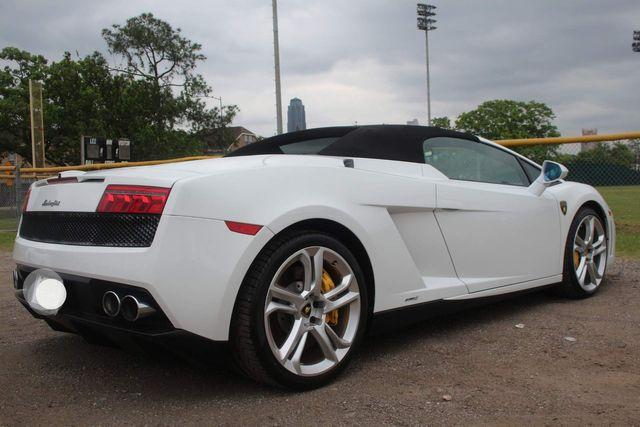 2014 Lamborghini Gallardo Spyder Houston, Texas 41