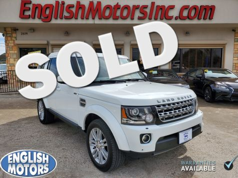2014 Land Rover LR4 LUX in Brownsville, TX