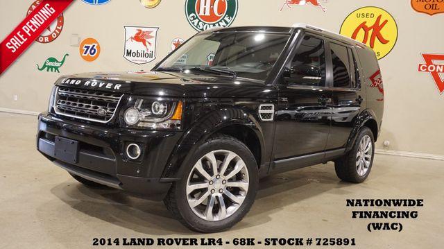 2014 Land Rover LR4 LUX XXV PKG ROOF,NAV,360 CAM,HTD LTH,20'S,68K in Carrollton TX, 75006