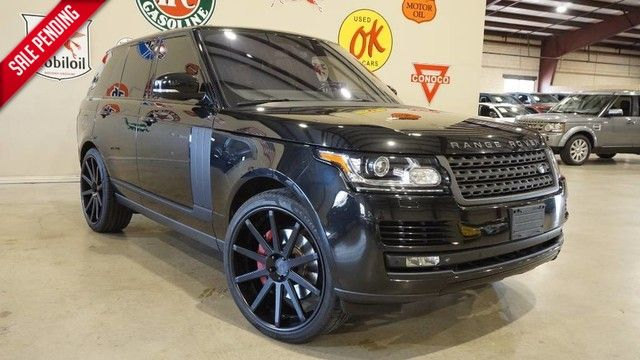 2014 Land Rover Range Rover S/C PANO ROOF,NAV,360 CAM,REAR DVD,HTD/COOL LTH...