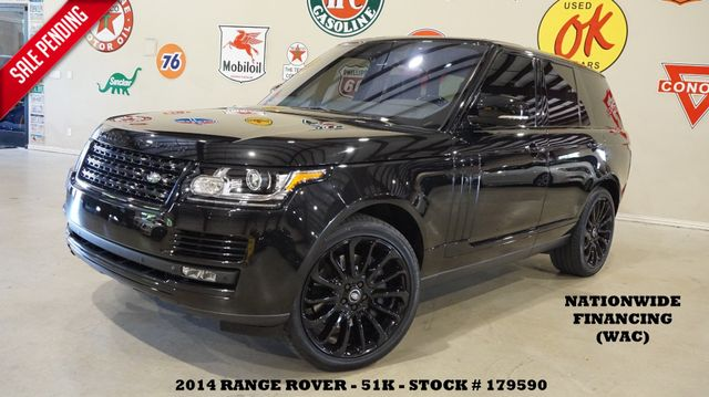 2014 Land Rover Range Rover Ebony Edition PANO ROOF,NAV,360 CAM,REAR DVD,51K