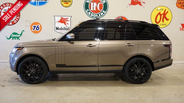 2014 Land Rover Range Rover S/C PANO ROOF,360 CAM,REAR DVD,HTD/COOL LTH,50K
