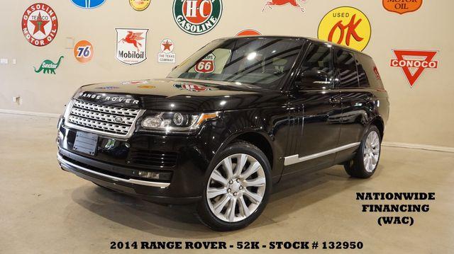 2014 Land Rover Range Rover S/C MSRP 105K,PANO ROOF,NAV,360 CAM,52K