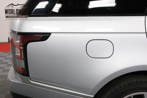 2014 Land Rover RANGE ROVER SUPERCHARGED FULLY LOADED | Denver, CO | Worldwide Vintage Autos in Denver, CO